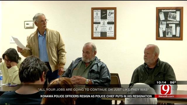 Konawa Police Force Resigns Following Firing Rumors