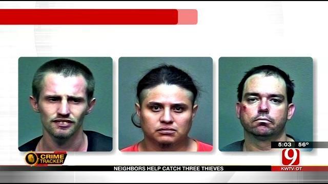 OKC Police Arrest 3 Home Burglary Suspects Following Pursuits