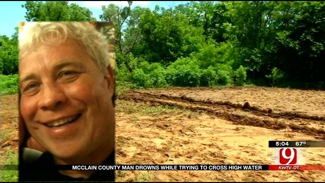 Man Dies Crossing High Water In McClain County
