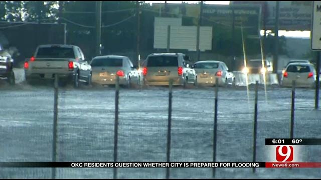 OKC Residents Question Whether City Is Prepared For Flooding