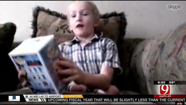 Oklahoma Veteran Creates One-Of-A-Kind 'Iron Man' For Terminally Ill Florida Boy