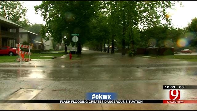 Strong Storms Bring Heavy Flooding, Damaging Winds To Parts Of Oklahoma