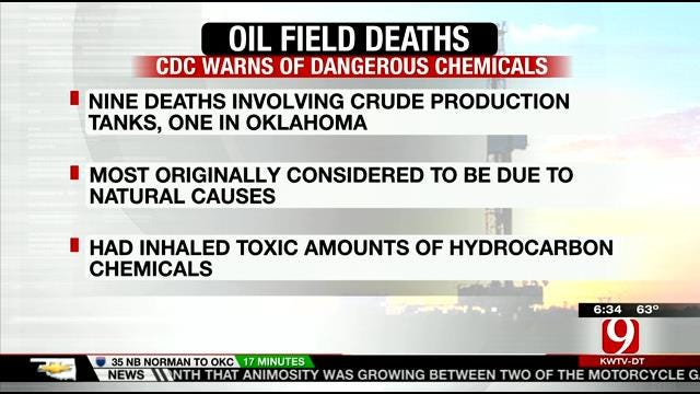 CDC Warns Of Dangerous Chemicals After Deaths Of Oil Field Workers