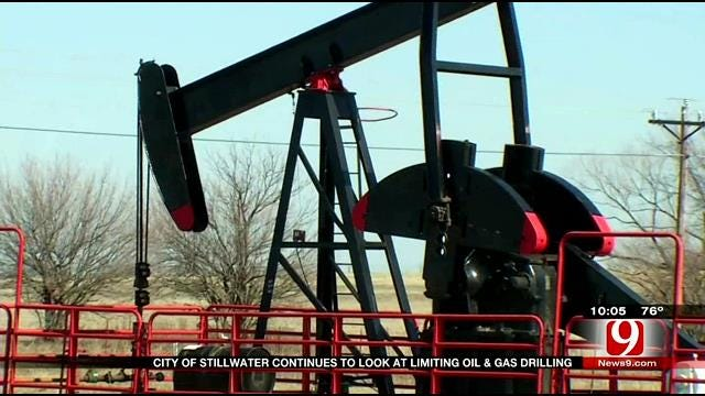 City Of Stillwater Continues To Look At Limiting Oil, Gas Drilling