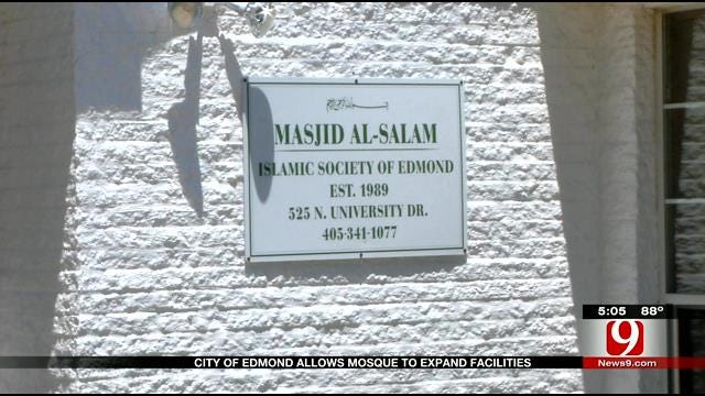 City Of Edmond Allows Mosque To Expand Facilities