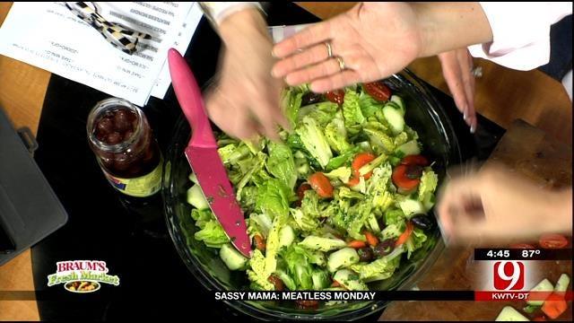 Ultimate Italian Salad With Summer Fresh Dressing