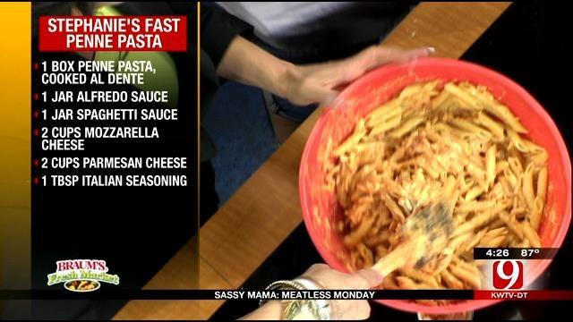 Stephanie's Fast Penne Pasta