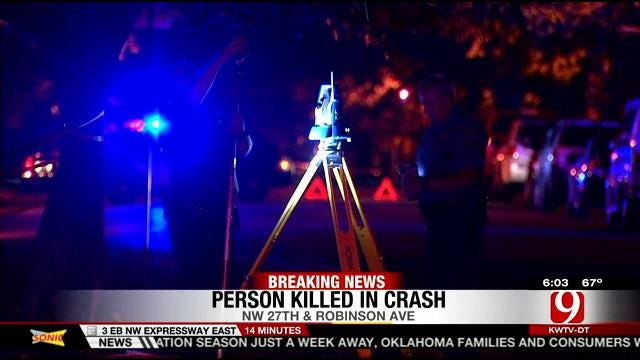Motorcyclist Killed After Crashing Into Parked Car In NW OKC