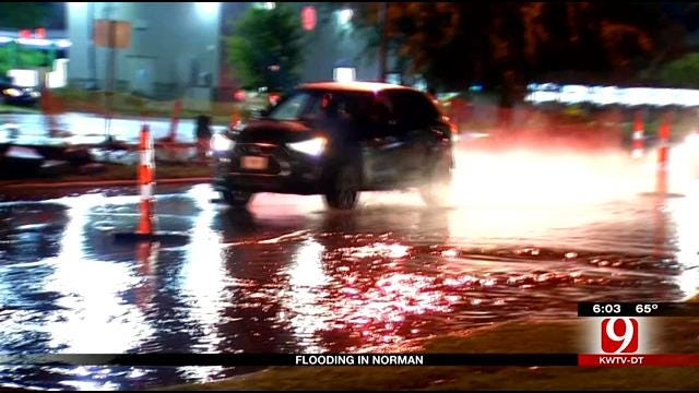 Severe Storms Cause More Flooding, Road Closures In Norman