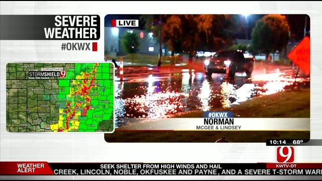 Flooding, Multiple Tornadoes, Hail Reported In Western Oklahoma