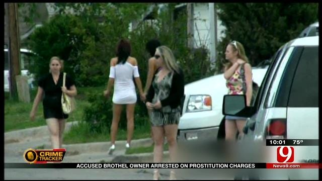 Accused Brothel Owner Arrested On Prostitution Charges
