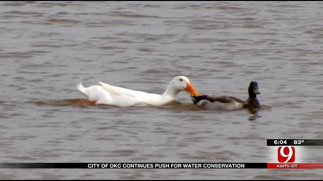 Despite Recent Rain Totals, City Of OKC Pushes For Water Conservation