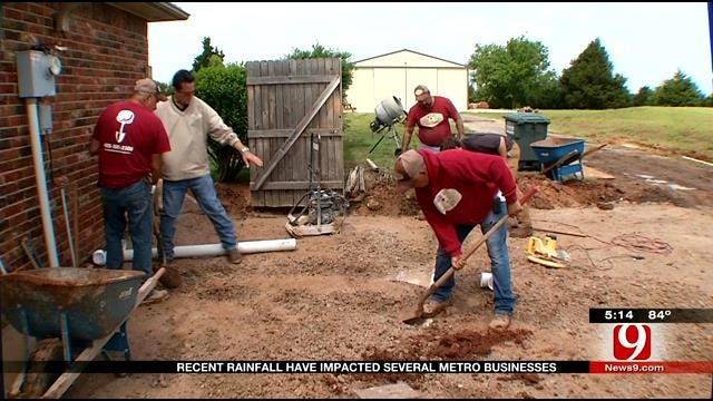 Recent Rainfall Negatively Affecting Some OKC Businesses