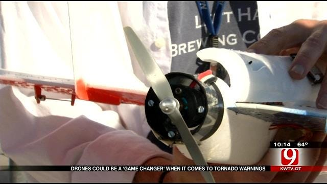 Oklahoma Weather Drone Use Could Provide Tornado Warnings