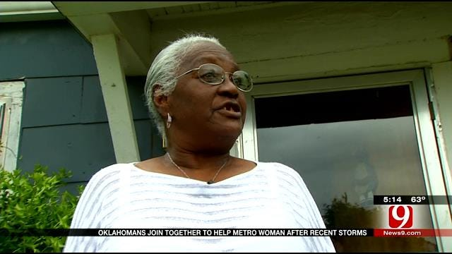 News 9 Viewers Help Out 82-Year-Old Storm Victim