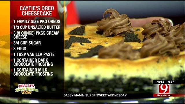 Caytie's Oreo Cheesecake