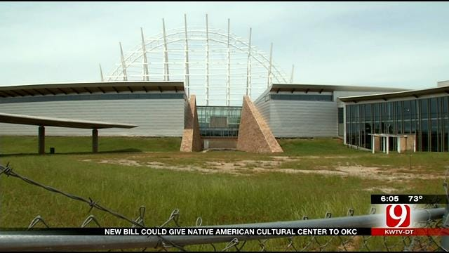 House Speaker Presents Plan To Finish American Indian Cultural Center