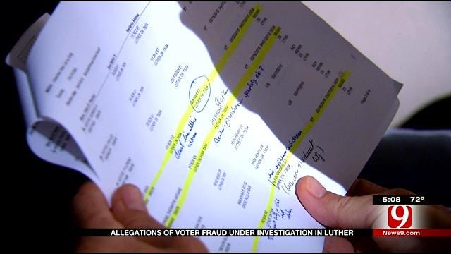 DA's Office Investigates Voter Fraud Claims In Luther
