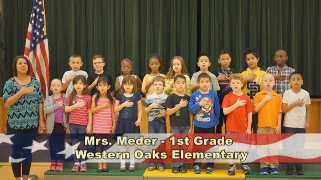 Mrs. Meder's 1st Grade Class At Western Oaks Elementary School