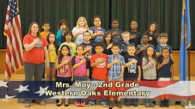 Mrs. Moy's 2nd Grade Class At Western Oaks Elementary School