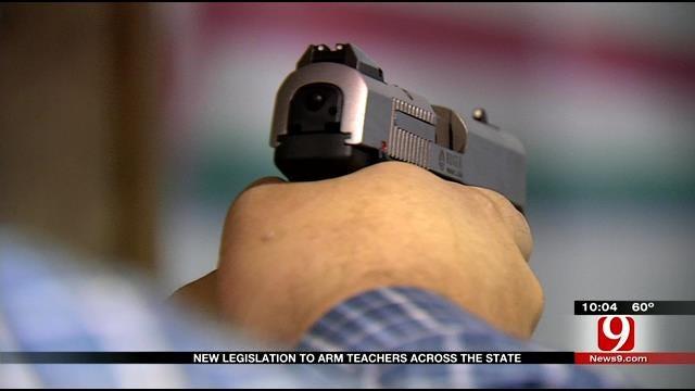 New Legislation Proposed To Arm Oklahoma Teachers