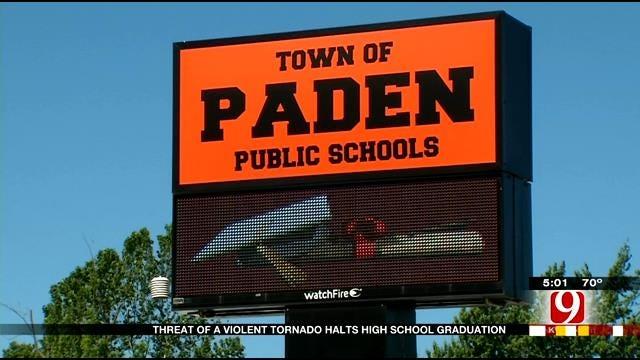 Severe Weather Forces OK School To Do Graduation Retake
