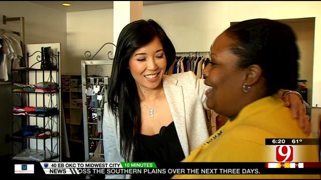 Fall Of Saigon Refugee, Sponsored By OK Family, Gives Back With 'Dress For Success'