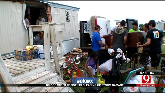 Bridge Creek Community Bands Together To Cleanup Weather-Ravaged Town