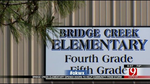 Bridge Creek Elementary Provided Shelter For Community During Tornado