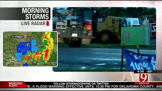 Bridge Creek Residents Begin Damage Assessment Following Tornado