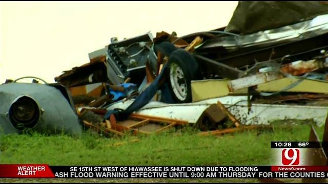WEB EXTRA: Storm Damage Throughout Bridge Creek