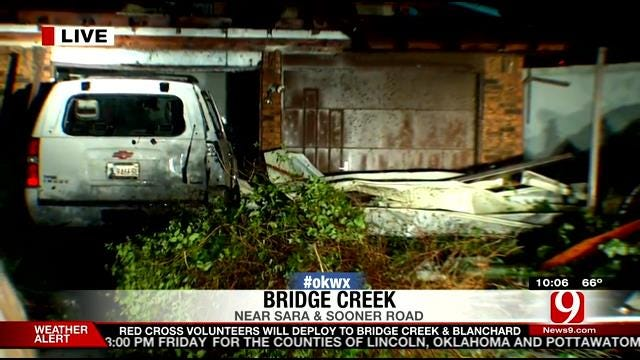 Homes and Businesses Destroyed In Severe Storms Across Central Oklahoma