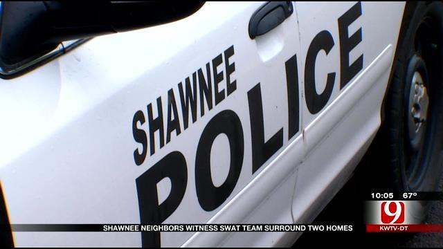 Neighbors Witness SWAT Team Surround Homes In Shawnee Murder Investigation
