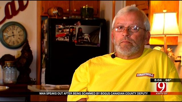 El Reno Man Speaks Out After Being Scammed By Bogus Canadian County Deputy