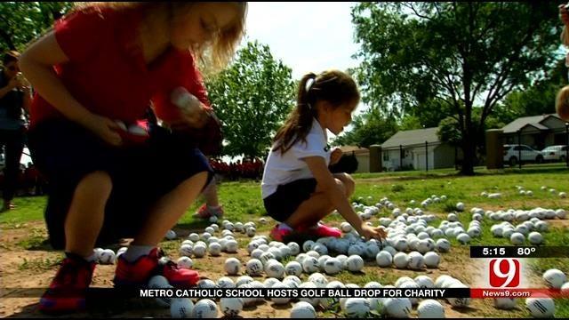 Oklahoma School Hosts Golf Scramble, Ball Drop For A Good Cause