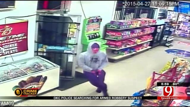 OKC Store Owner Tries To Turn The Tables On Robber
