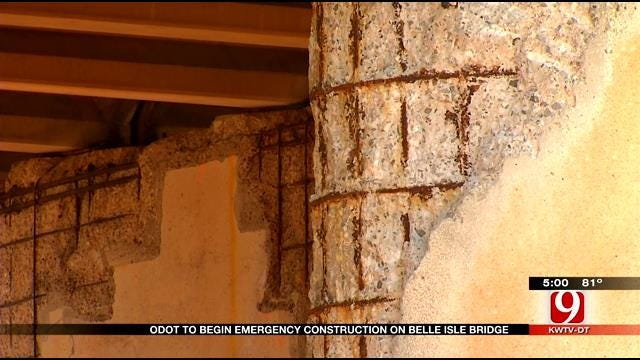 Emergency Declared Over Crumbling Belle Isle Bridge