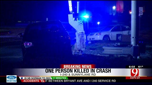 Driver Arrested For DUI Following Crash That Killed One In SE OKC