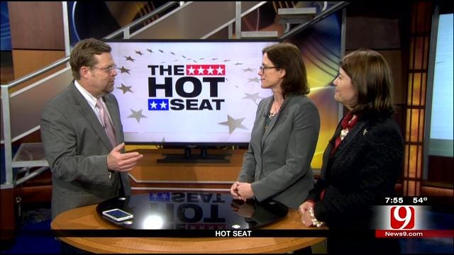 Hot Seat: Julia Kirt and Amber Sharples