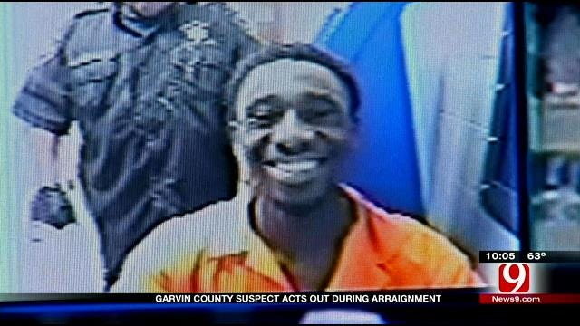 Judge Gives Mouthy Garvin Co. Inmate An Earful During Arraignment