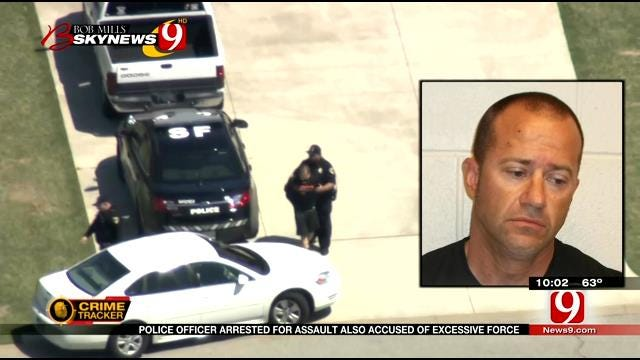 Metro Police Officer Arrested, His Past Called Into Question