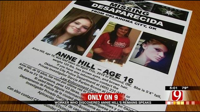 Worker Who Discovered Annie Hill's Remains Speaks Out