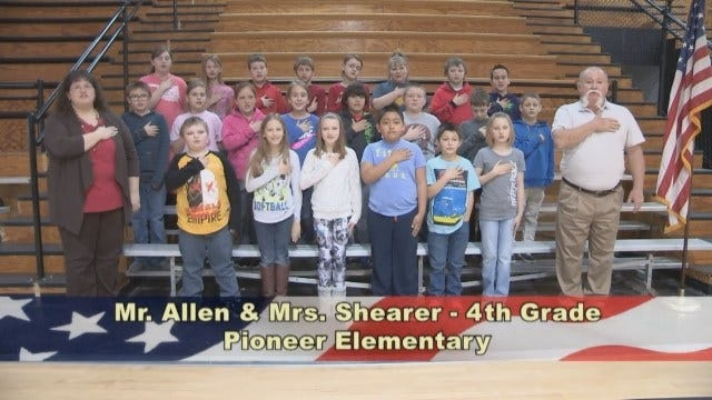 Mr. Allen and Mrs. Shearer's 4th Grade Class At Pioneer Elementary