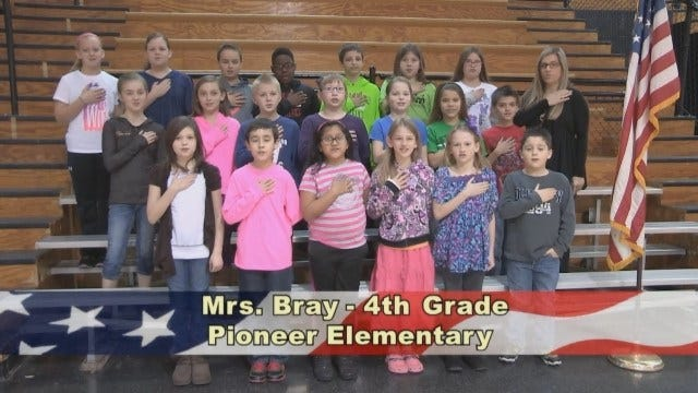 Mrs. Bray's 4th Grade Class At Pioneer Elementary