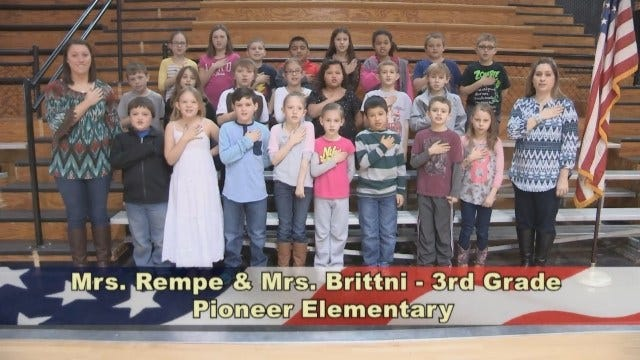 Mrs. Rempe and Mrs. Brittni's 3rd Grade Class At Pioneer Elementary