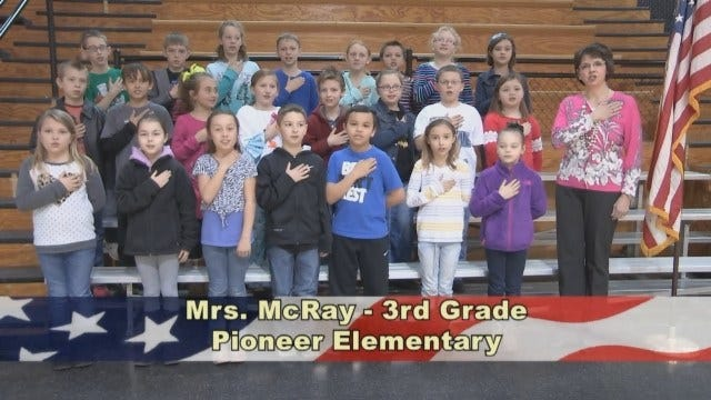 Mrs. McRay's 3rd Grade Class At Pioneer Elementary