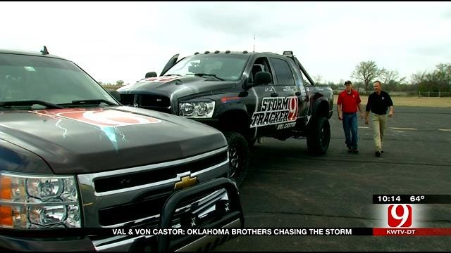 Oklahoma Brothers Share Passion For Storm Chasing