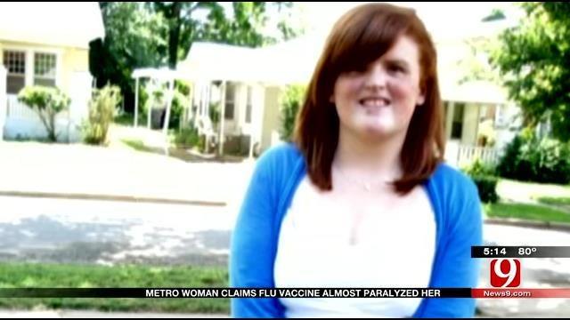 OKC Woman Claims Flu Shot Left Her Handicapped