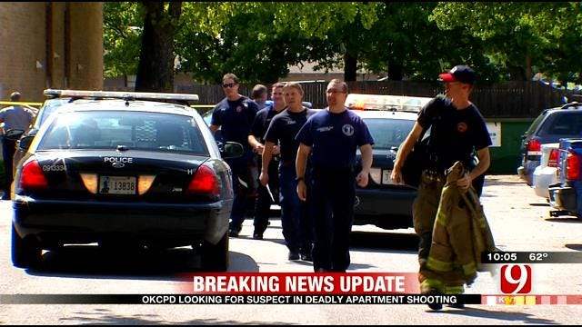 OKCPD Looking For Suspect In Deadly Apartment Shooting