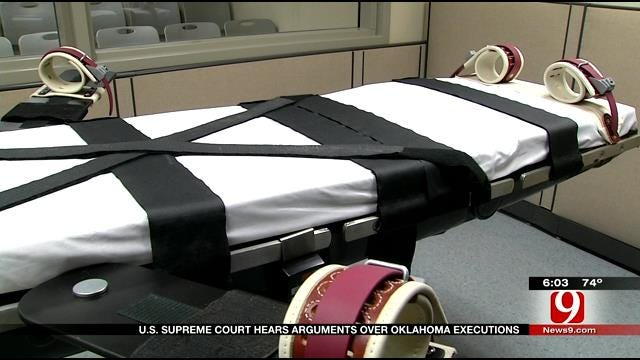 U.S. Supreme Court Hears Arguments Over Oklahoma Executions